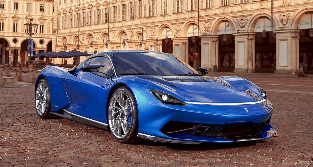 Мощный автомобиль Pininfarina Battista