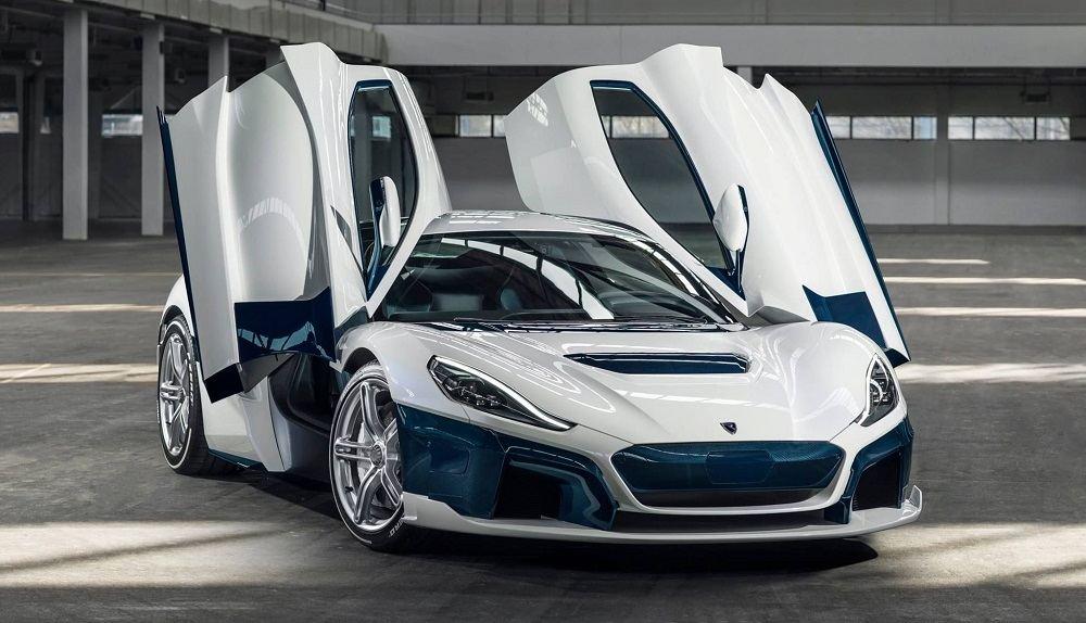 Мощный автомобиль Rimac C_Two