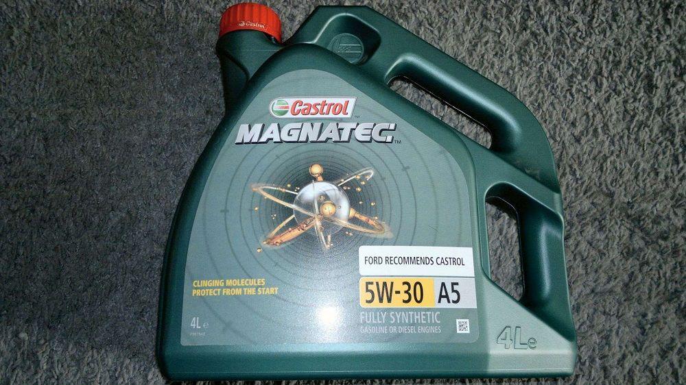 Моторное масло 5W30 Castrol Magnatec A5 Dualock