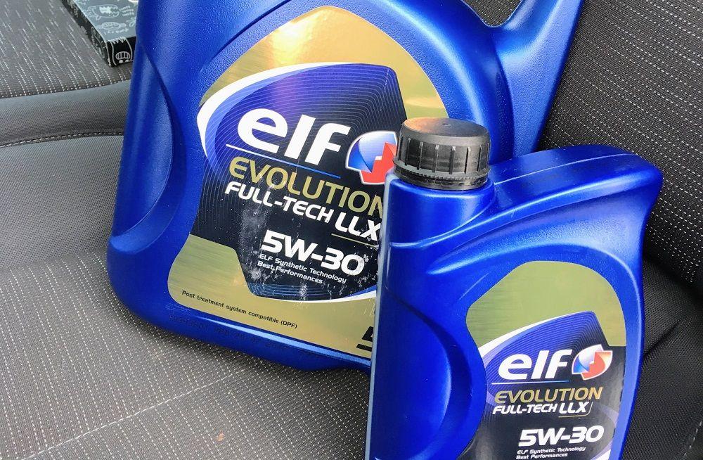 Моторное масло 5W30 Elf Evolution Full Tech FE