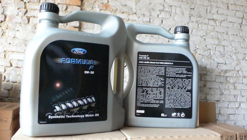 Моторное масло 5W30 Ford Formula F