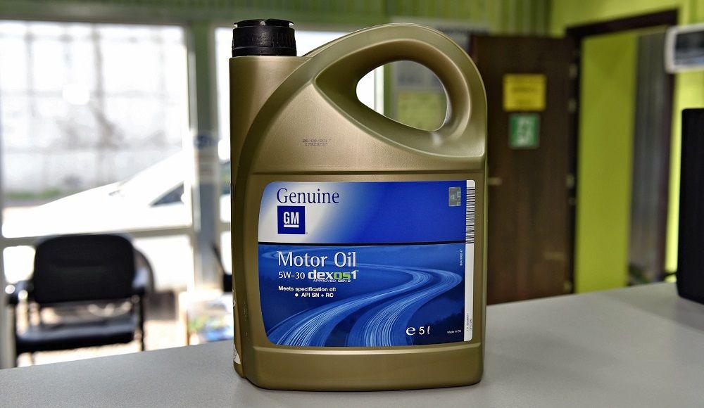Моторное масло 5W30 GM Dexos 2 Longlife