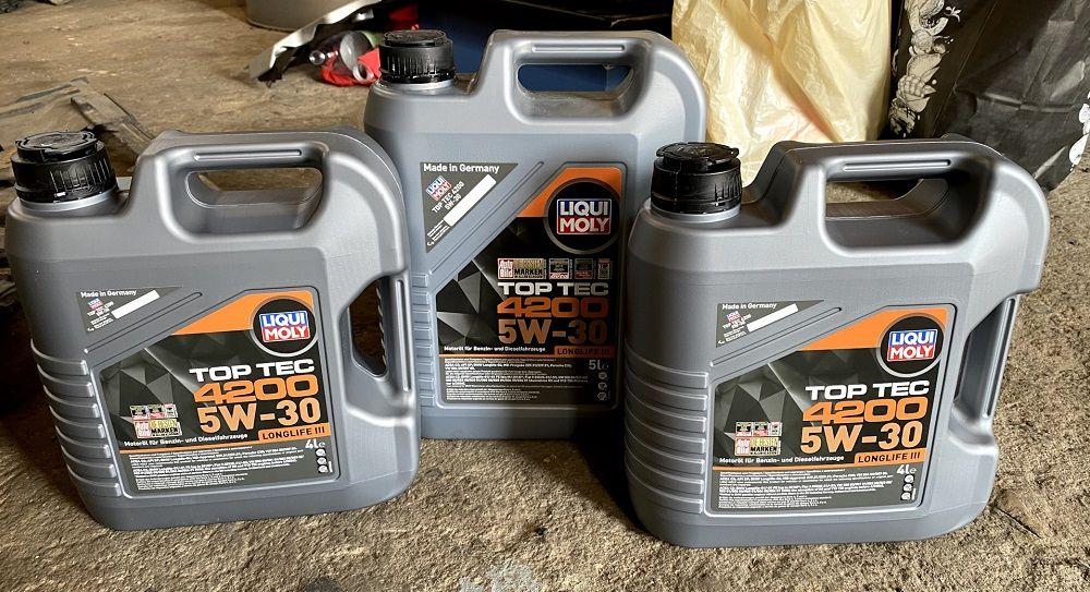 Моторное масло 5W30 Liqui Moly TopTec 4200