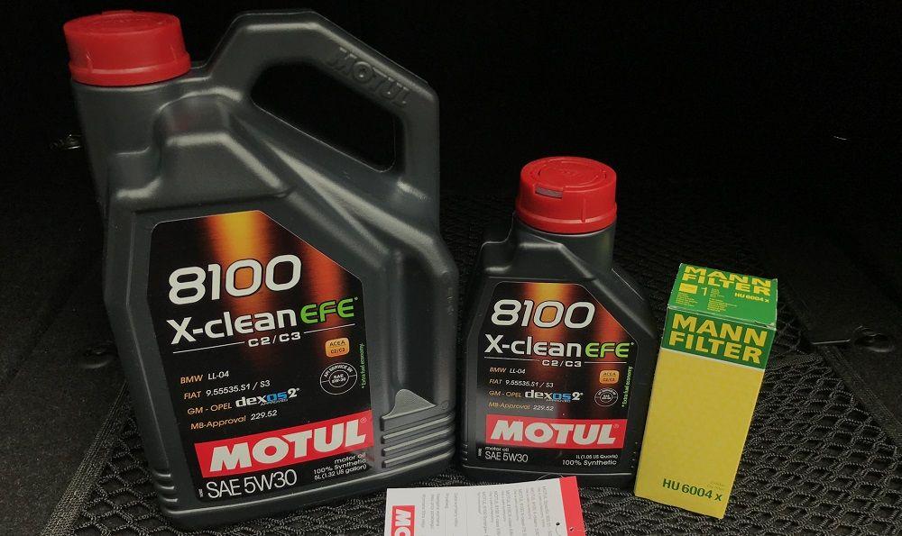 Моторное масло 5W30 Motul 8100 X-Clean EFE