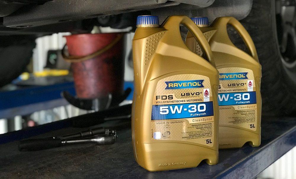 Моторное масло 5W30 Ravenol FDS