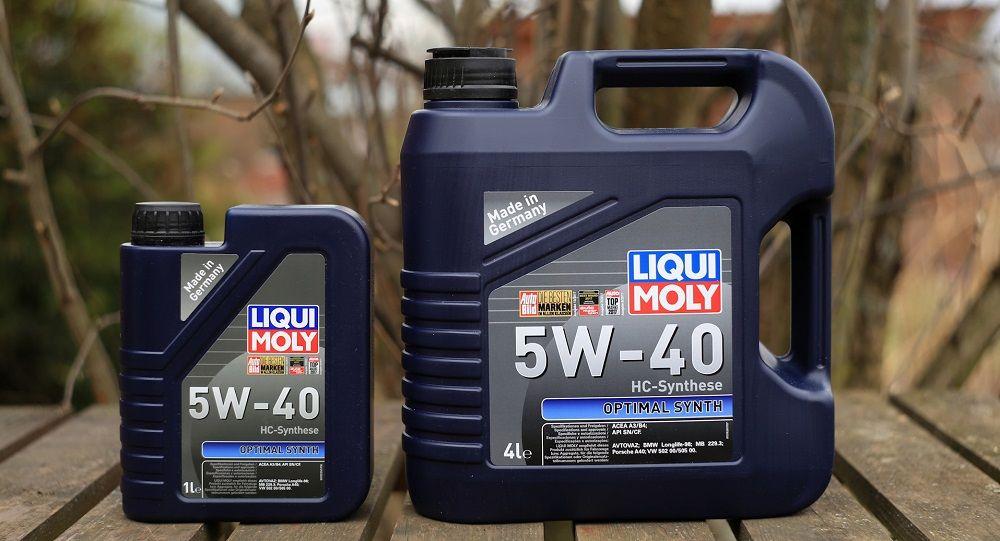 Моторное масло 5W40 Liqui Moly Optimal Synth