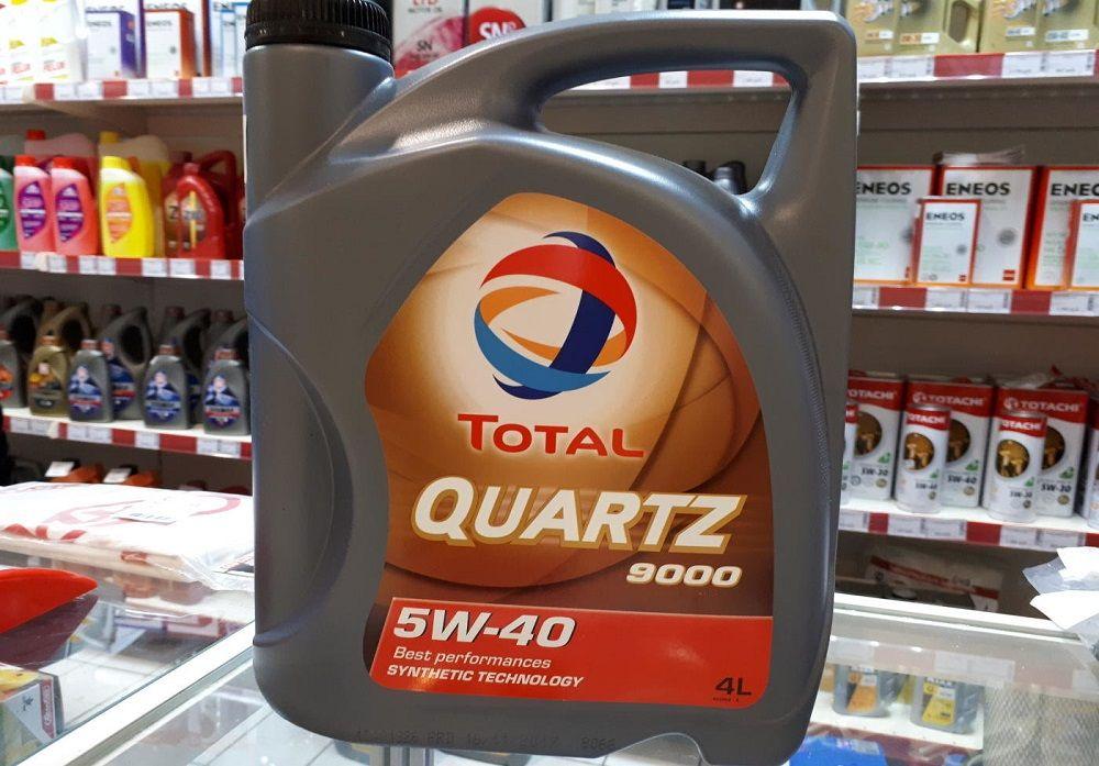 Моторное масло 5W40 Total Quartz 9000