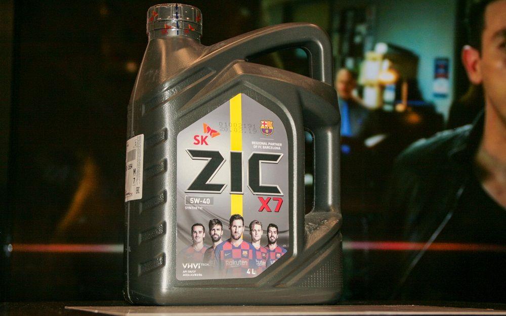 Моторное масло 5W40 ZIC X7