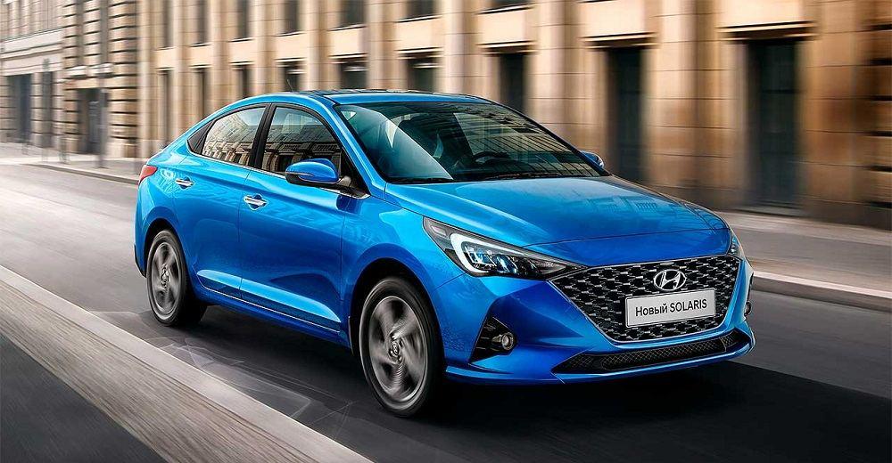 Новый автомобиль до 1 миллиона Hyundai Solaris