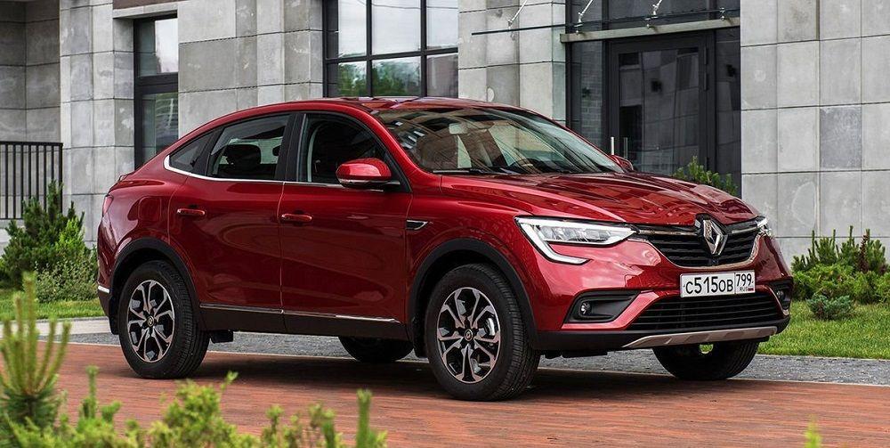 Новый автомобиль до 1,3 миллиона Renault Arkana