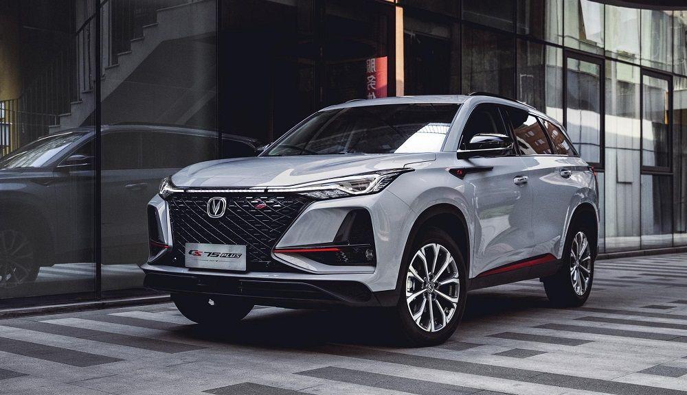 Новый автомобиль до 1,4 миллиона Changan CS75