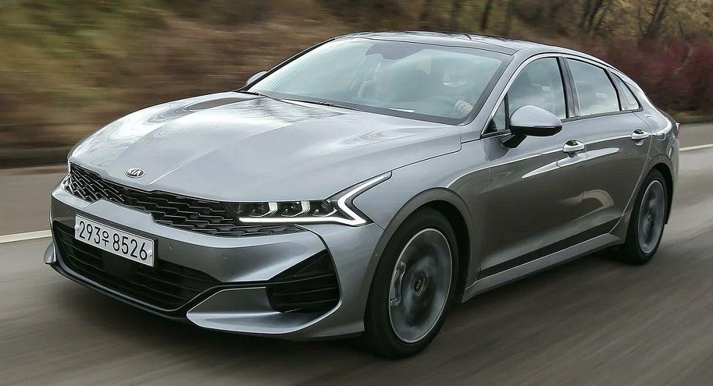 Новый автомобиль до 2 миллионов Kia Optima