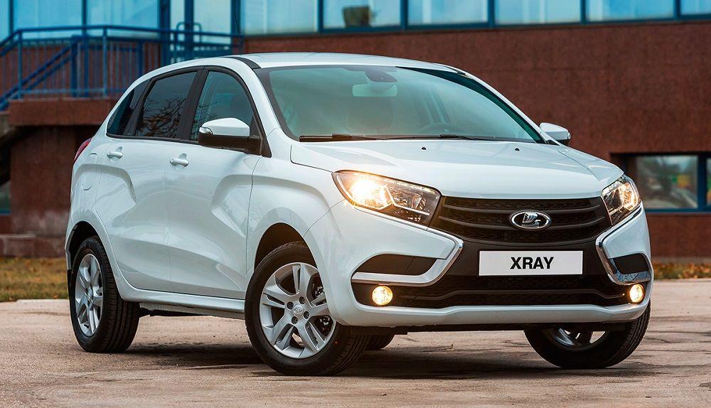 Новый автомобиль до 600 тысяч Lada XRay