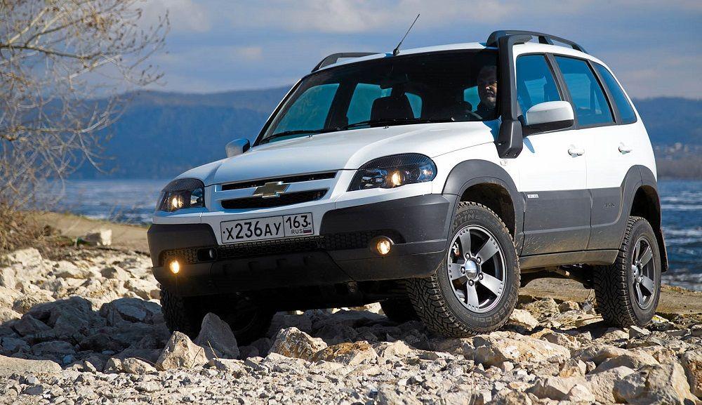Новый автомобиль до 700 тысяч Chevrolet Niva
