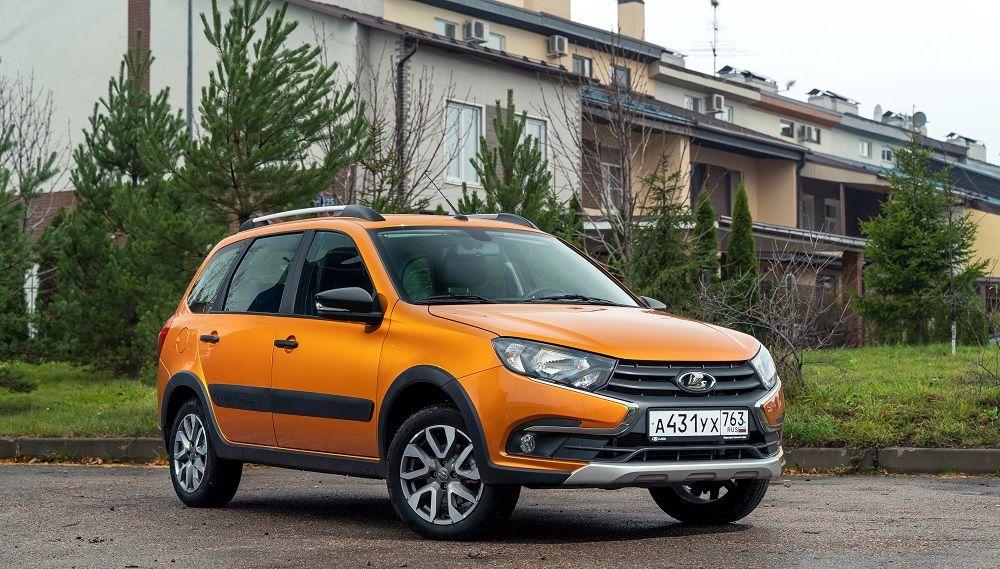 Новый автомобиль до 700 тысяч Lada Granta Cross