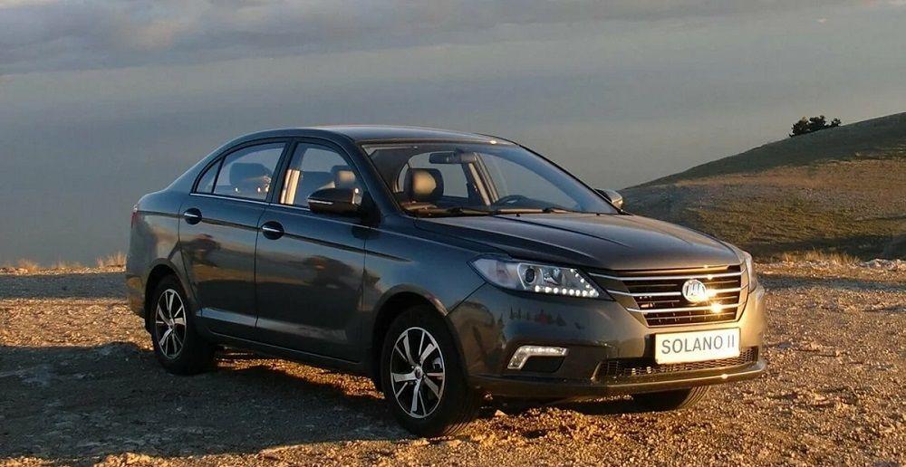 Новый автомобиль до 700 тысяч Lifan Solano