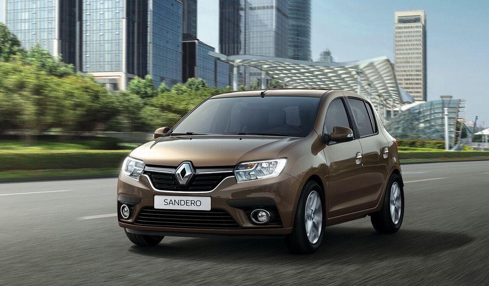 Новый автомобиль до 800 тысяч рублей Renault Sandero