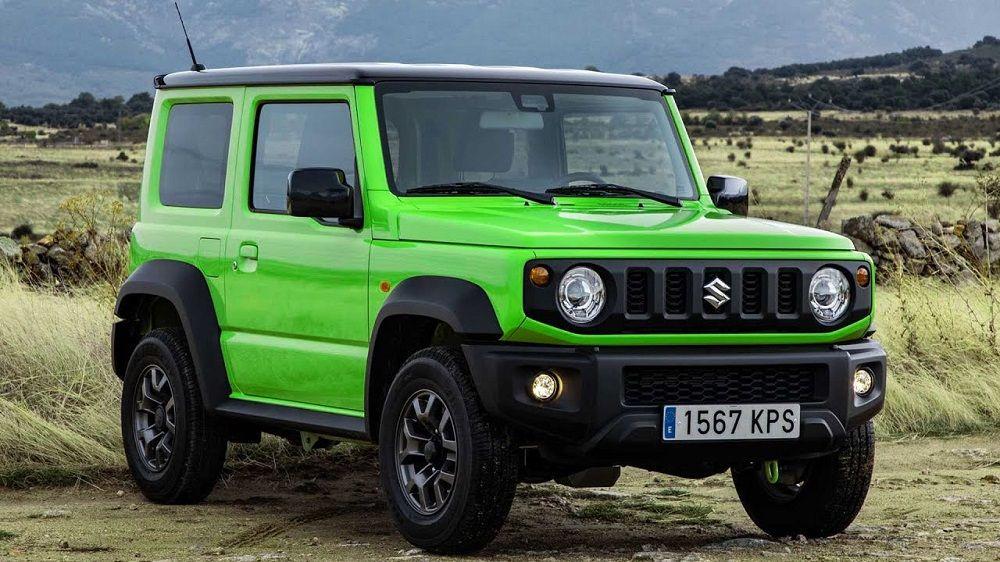 Новый внедорожник до 1 миллиона Suzuki Jimny