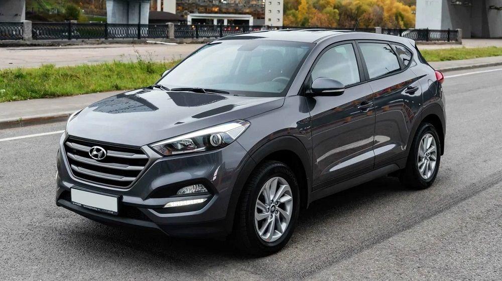Подержанный автомобиль до 1 миллиона Hyundai Tucson III