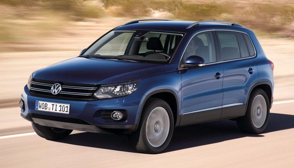 Подержанный автомобиль до 1 миллиона Volkswagen Tiguan I Рестайлинг