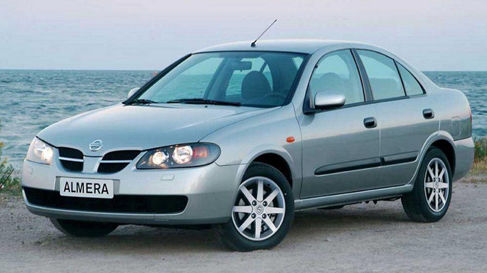 Подержанный автомобиль до 100 тысяч Nissan Almera II (N16) Рестайлинг