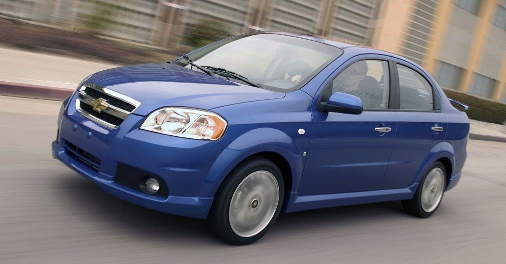Подержанный автомобиль до 250 тысяч Chevrolet Aveo