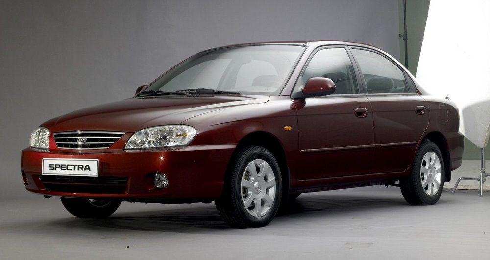 Подержанный автомобиль до 250 тысяч Kia Spectra