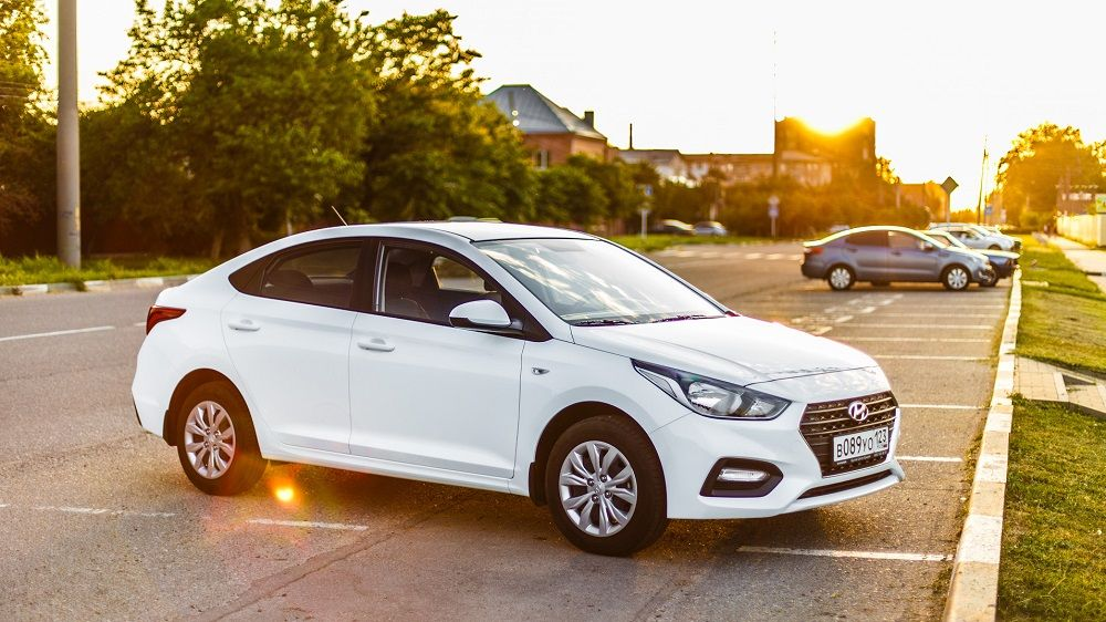 Подержанный автомобиль до 600 тысяч Hyundai Solaris