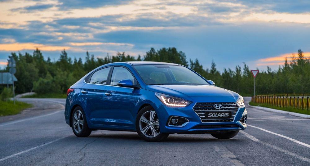 Подержанный автомобиль до 700 тысяч Hyundai Solaris II