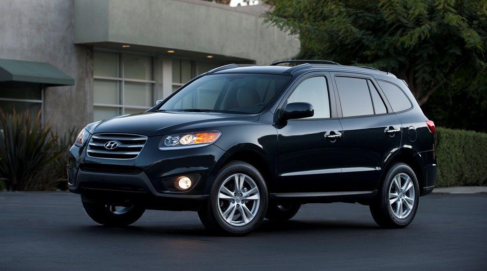 Подержанный внедорожник до 800 тысяч Hyundai Santa Fe