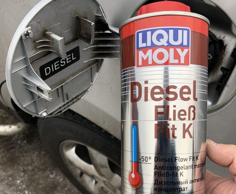 Присадка для дизельного топлива Liqui Moly Diesel Fliess-Fit K