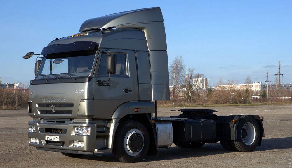 Российский грузовик КАМАЗ NEW 5460