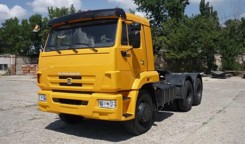 Российский грузовик КАМАЗ NEW 65116