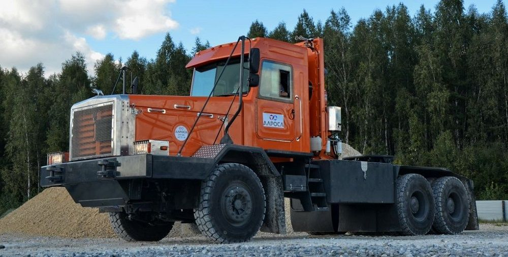 Российский грузовик Тонар 45252