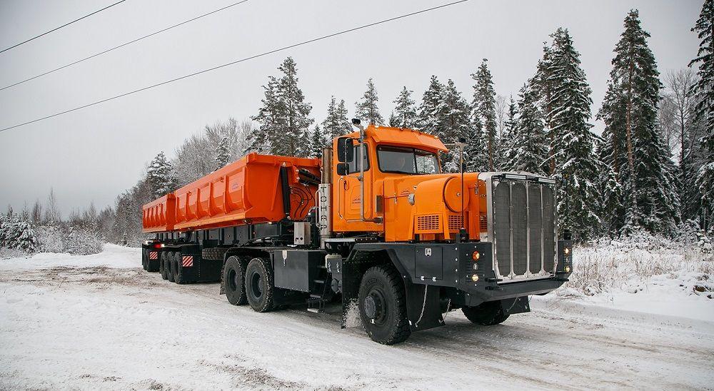 Российский грузовик Тонар 7502