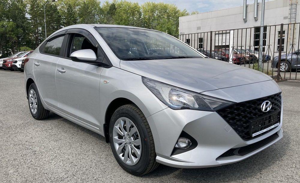 Седан среднего класса Hyundai Solaris