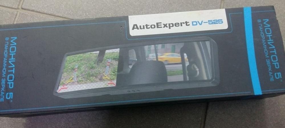 Зеркало с монитором Auto Expert DV525