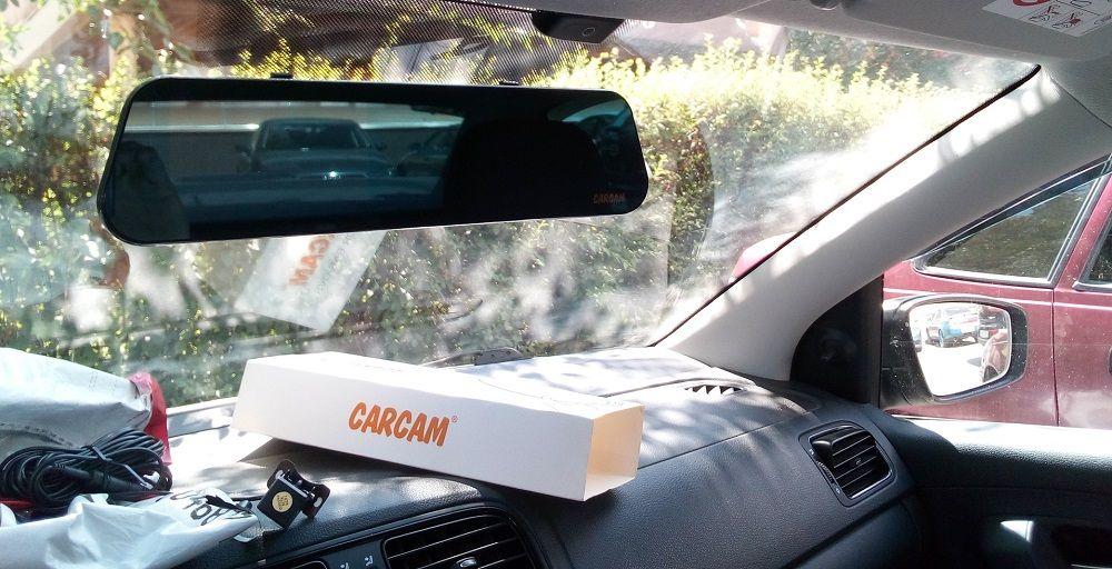 Зеркало с монитором Carcam Z6