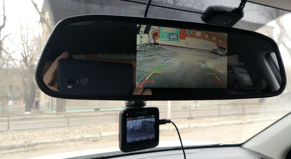 Зеркало с монитором Swat VDR2U