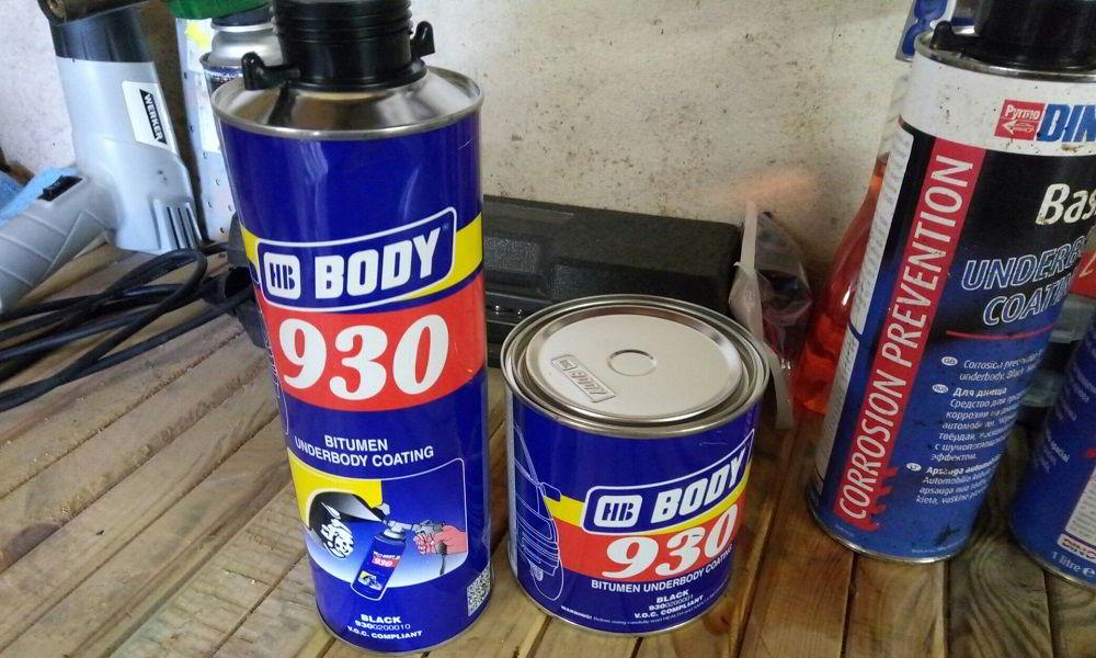 Антикоррозийное средство Body 930