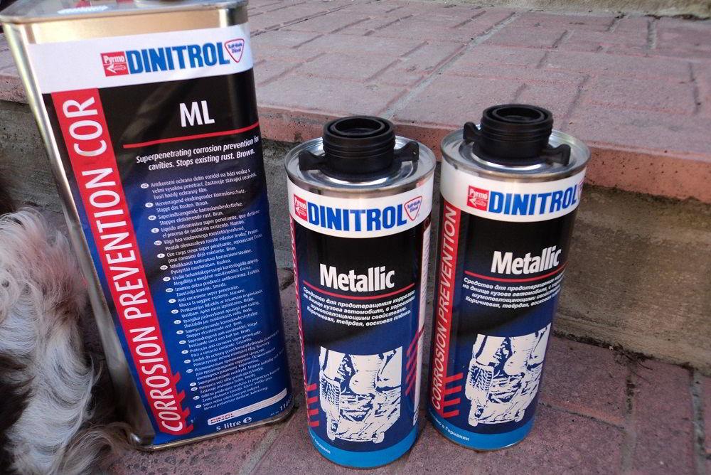 Антикоррозийное средство Dinitrol ML 9