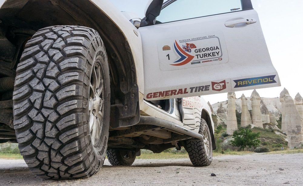AT шины для внедорожников General Tire Grabber AT3