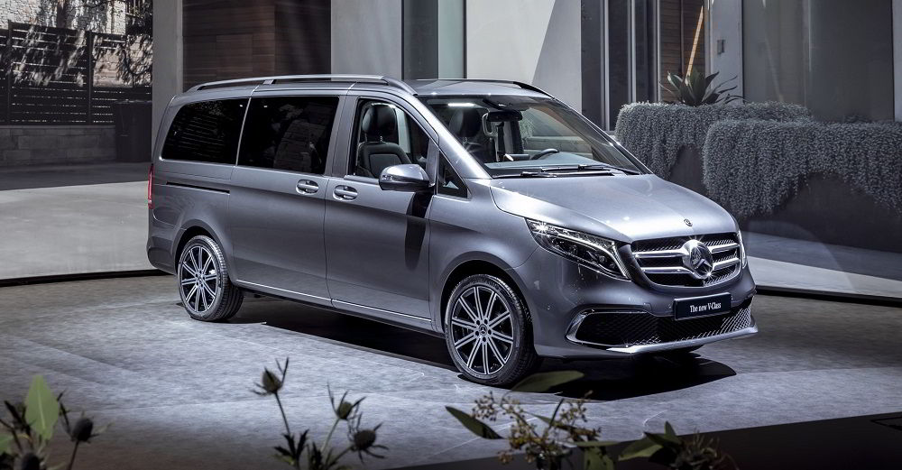 Авто для путешествий Mercedes V-Class
