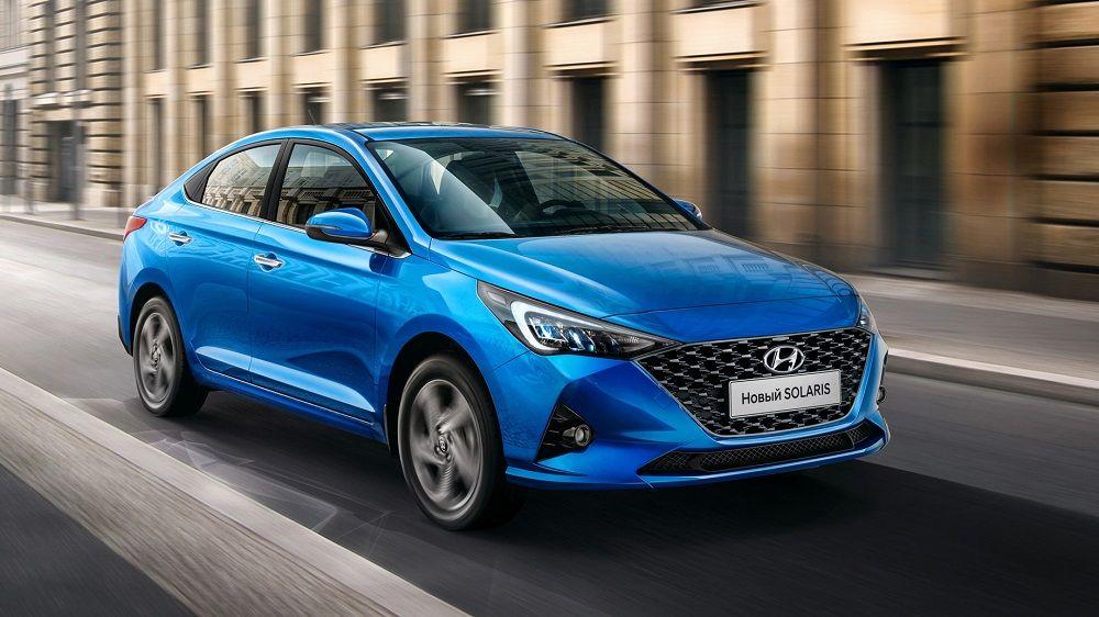 Авто для российских дорог Hyundai Solaris