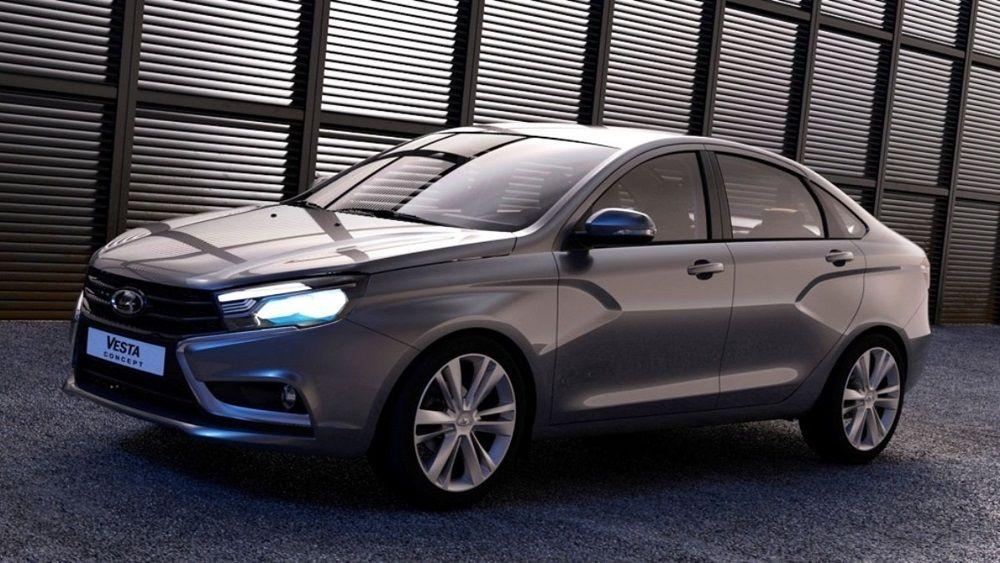 Авто для российских дорог Lada Vesta