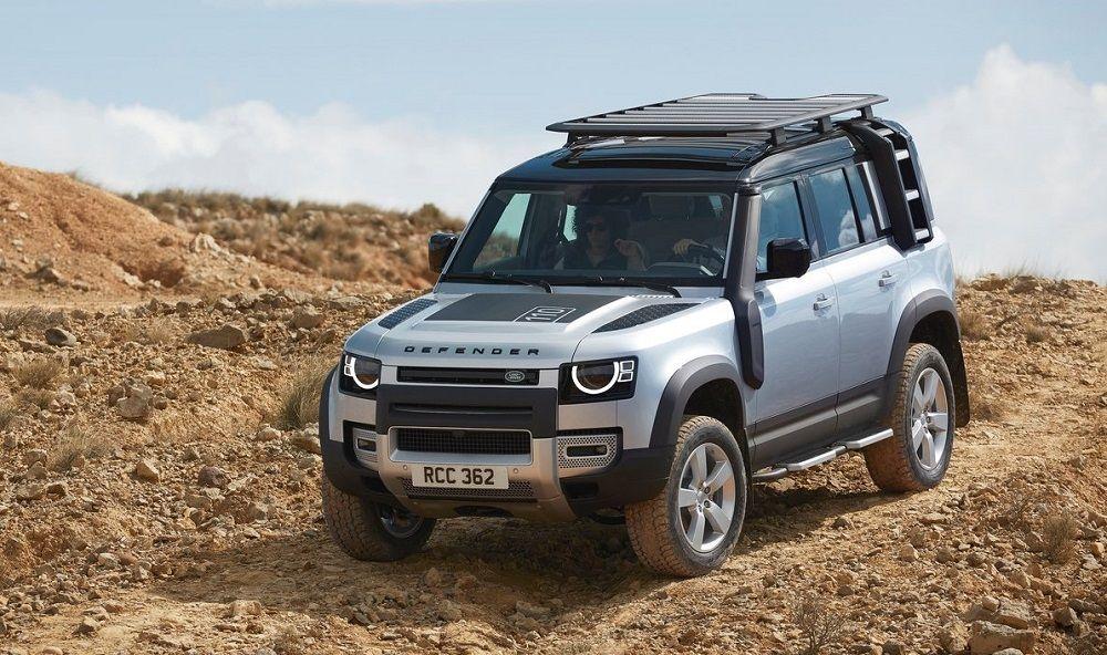 Автомобиль для охоты и рыбалки Land Rover Defender