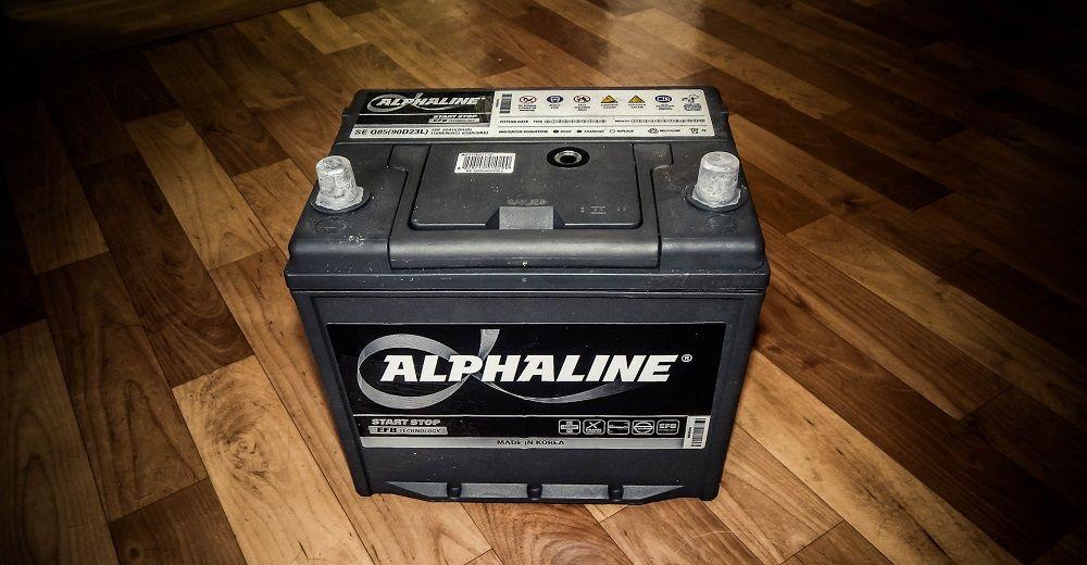 Автомобильный аккумулятор Alphaline EFB