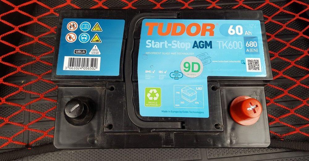 Автомобильный аккумулятор Tudor Start Stop AGM