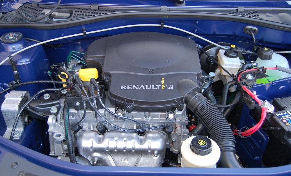 Автомобильный двигатель K7M от Renault