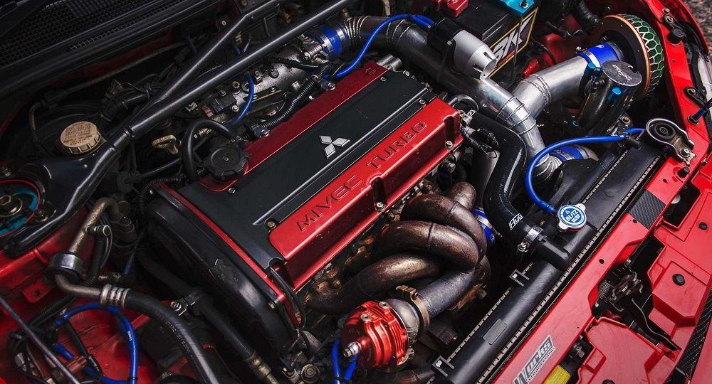 Автомобильный двигатель Mitsubishi 4G63